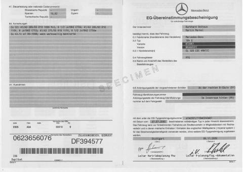 Qu'est-ce qu'un COC ou Certificat de Conformité Européen