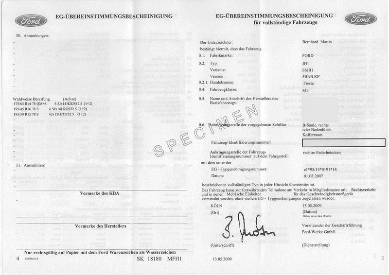Le certificat de conformité pour immatriculer une voiture importée