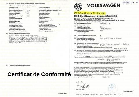 Le certificat de conformité européen est un document indispensable aux conducteurs en Europe. Il garantit le respect des normes et exigences de la règlementation européenne. Ainsi, il permet de circuler en toute liberté à travers les pays. Ce document est requis pour immatriculer une voiture ou en importer une depuis l'étranger